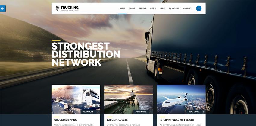 25 Best Transportation & Logistics WordPress Themes (Free + Premium for 2020)