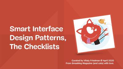 Smart Interface Design Patterns Checklists PDF