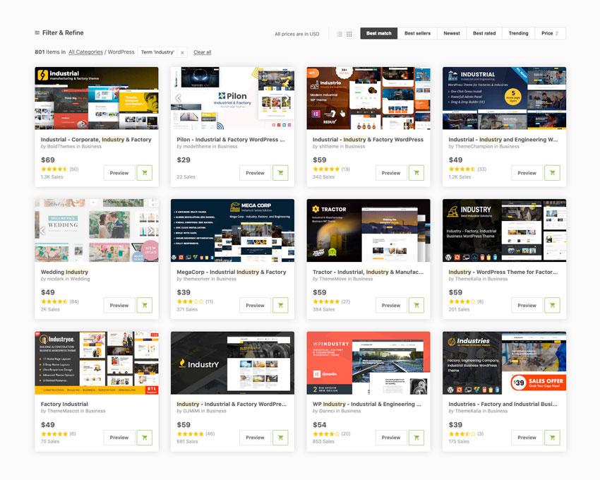 20 Best Industry & Factory WordPress Themes 2020