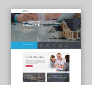 25 Best Insurance WordPress Themes
