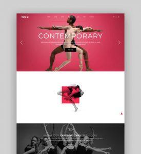 25 Best WordPress Themes for Dance Studios 2020