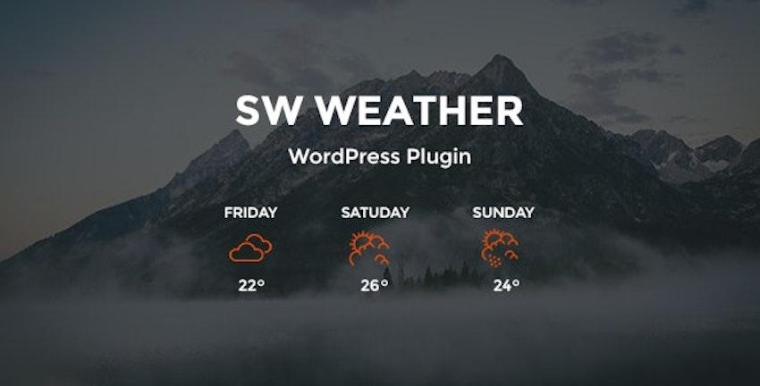 12 Best WordPress Weather Widgets & Plugins (With 5 Free)