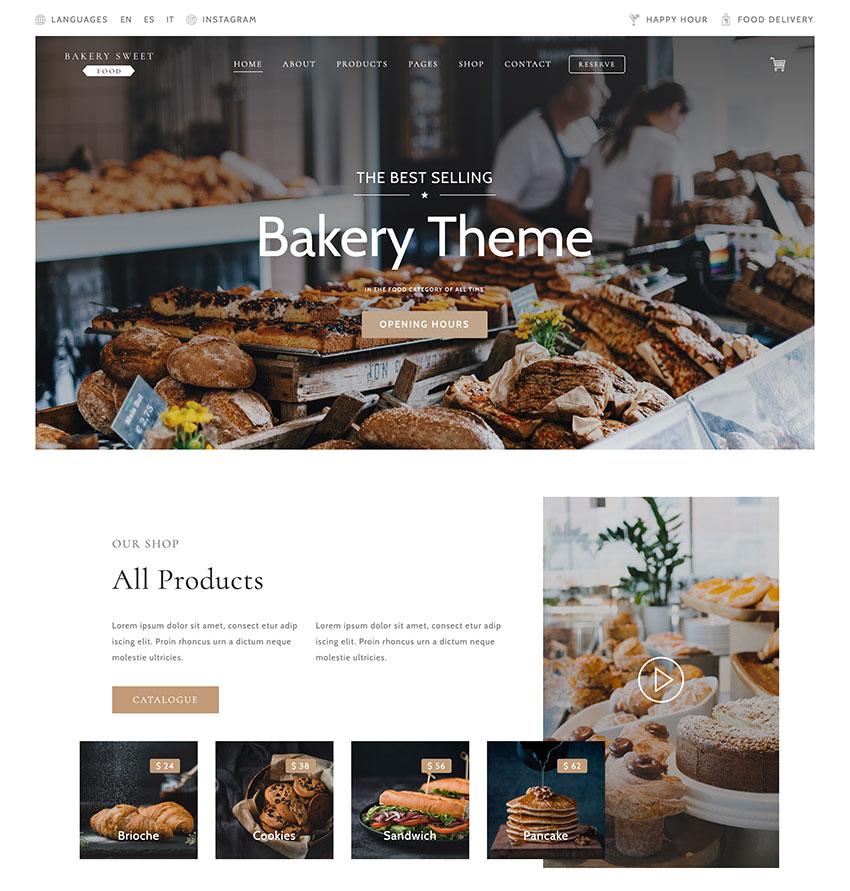 18+ Best WordPress Themes for Bakeries 2020 (Free & Premium)