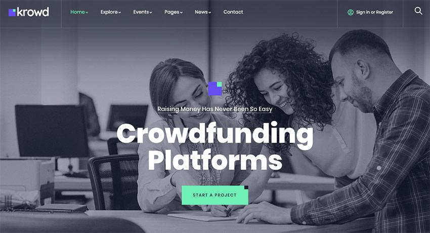 15+ Best Crowdfunding WordPress Themes to Use in 2020 (Free & Premium)