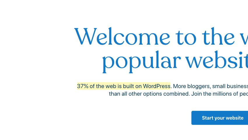How Many Websites Use WordPress?