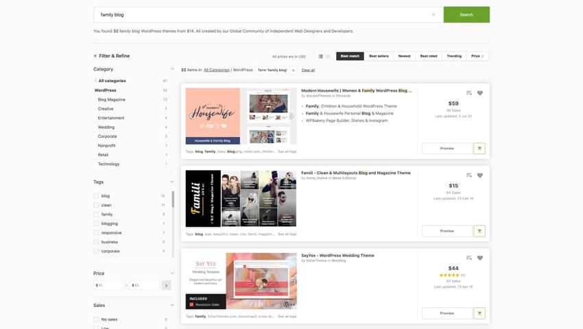 20+ Best WordPress Themes for Family Blogs