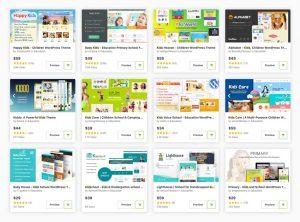 25 Best Kindergarten & Preschool Children WordPress Themes for 2020