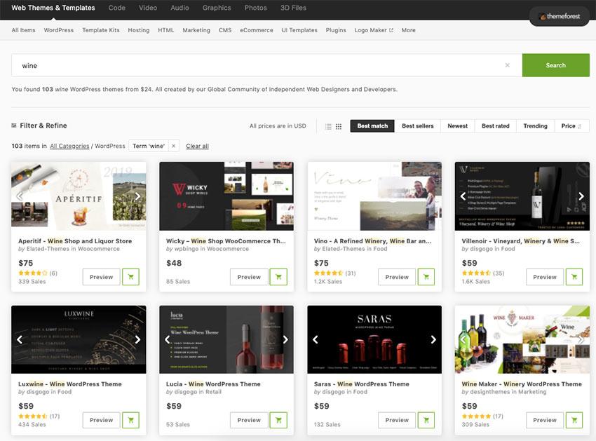 20+ Top Brewery and Winery WordPress Themes (Free & Premium)